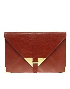 ASOS Portfolio Envelope Clutch  £20.00
