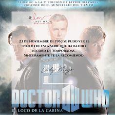 23 de noviembre , sale por primera vez en la BBC Dr Who, Bbc, Movies, Movie Posters, First Time, November, Activities, Films, Film Poster