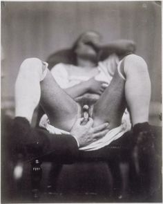 First real hermaphrodite photograph, by Nadar.