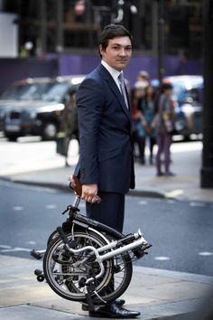 Brompton Folding Bike in London, but i still like my Dahon better.