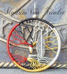 Medicine Wheel Wire Wrapped Tree of Life