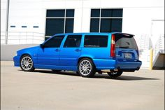Pimpin' Volvo V70R wagon.  There's something perversely cool about a high-powered brick of a car.