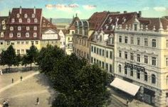 Blick auf das Café Central, 1914