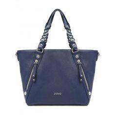LIUJO Borsa shopping LAVANDA N17196 Dress Blu