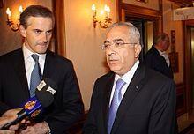 Salma Fayad  1 ministro en Cisjordania