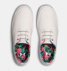 $60 Men's UA Street Encounter III Color Pack Shoes, White