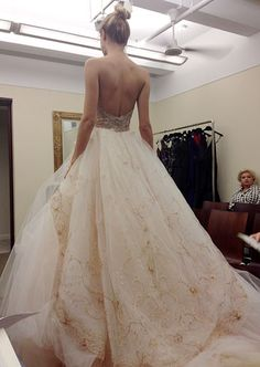 Lazaro. -- love the overall shape and design, but not so much the fabric on the bottom