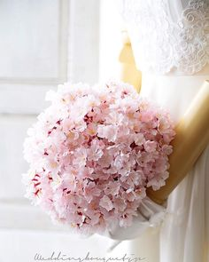 Really unusual and very feminine pink cherry blossoms bridal bouquet Cherry Blossom Bouquet, Cherry Blossom Wedding, Cherry Blossoms, Spring Wedding, Dream Wedding, Wedding Bride, Bride Bouquets, Bridesmaid Bouquet, Wedding Colors