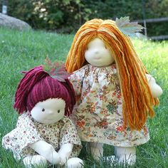 Beneath the Rowan Tree: Waldorf Dolls :: Make or Build Your Own (Resources for Crafty Folks)