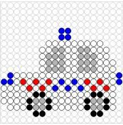 Graph Paper Art, Perler Beads, Diy For Kids, Homeschool, Arts And Crafts, Coding, Kids Rugs, Shapes, Lego