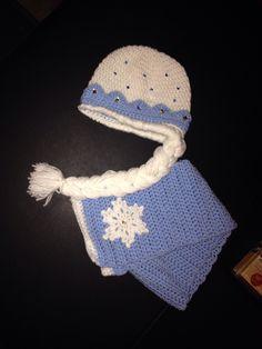 Elsa muts en sjaal