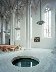 AFF architekten - Zentrum Taufe St. Petri-Pauli-Kirche, Lutherstadt Eisleben