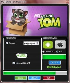 My Talking Tom Android APK Hack Tool 2015