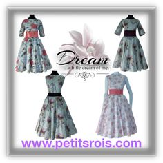 Vestidos Estilo Vintage. Petits Rois by petits-rois on Polyvore featuring moda, Love Quotes Scarves and vintage