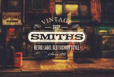 trendgraphy:  Vintage Badge Collection of awesome 8 vintage...