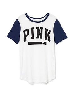 Perfect Legging Tee - PINK - Victoria's Secret from Victoria's Secret