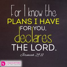 Daily Devotional -God's Plan for your Life: https://daughtersofthecreator.com/gods-plan-life/