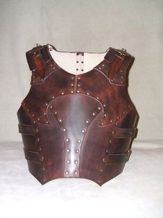 This is what's most probably be my next LARP armor I'll be making for myself for next summer's LARP season. Like my previous armor, I can wear only the big belt for when I'm not fighting or just th...