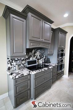 30 best Gray Cabinets images on Pinterest in 2018 | Kitchens, Gray Kitchen Cabinets In Gray on gray tile in kitchen, gray washed kitchen cabinets, gray countertops in kitchen, table in kitchen, shiplap in kitchen, gray and white kitchen ideas, gray paint in kitchen, gray kitchen white cabinets, gray kitchen cupboards, gray kitchen cabinets ideas, gray bath, brown in kitchen, couch in kitchen, millwork in kitchen, gray kitchen cabinets with granite, books in kitchen, red in kitchen, edgecomb gray in kitchen, lighting in kitchen, brown and gray kitchen,