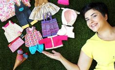 Curso online de Guarda-roupa de bonecas