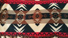 Southwestern pattern beutiful browns approx by Debhandmadeblankets