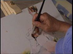 DVD - Watercolour Secrets with Charles Reid (haven´t tried this link, but i like his loose, weird style)