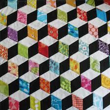 Image result for english paper piecing diamonds
