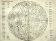 1905 map of the moon