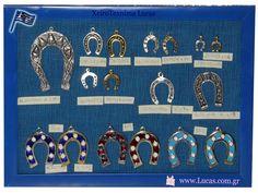 Επάργυρα πέταλα Μεταλλικα πέταλα με σμάλτο Ελληνικά υλικά για γούρια Shopping, Souvenir