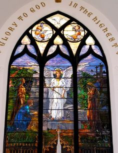 Tiffany Glass Company | Presented by Marie Atkinson Perkins Willard | Calvary St. Andrews Presbyterian Parish, Rochester, NY