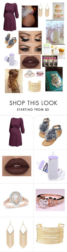 """Baby shower"" by mashelgracehoran96 ❤ liked on Polyvore featuring H&M, Zales, Jane Norman and Charlotte Russe"
