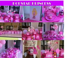 Popstar Princess tween party by Co-Ords Kidz Party Boutique