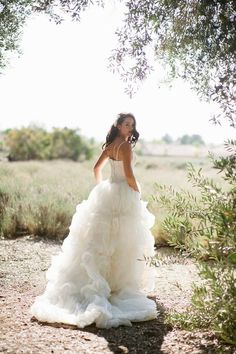 love this dress for one of our capri brides for a garden wedding