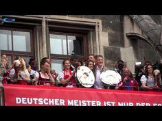 Lena Lotzen & Bastian Schweinsteiger @ FC Bayern Meisterfeier 2015