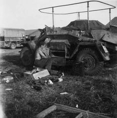 A SdKfz 223 armored Funkwagen
