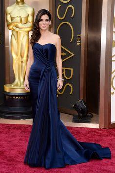 Sandra Bullock in McQueen - stunning!