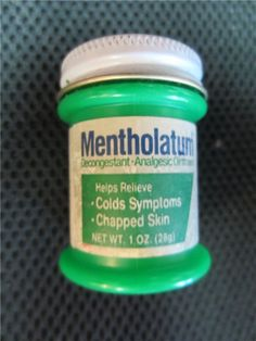 Mentholatum.