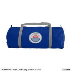 I'M MAGNET Gym Duffle Bag