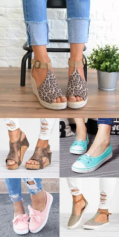 Hot sale 2019 casual leisure shoes sandals flats my style in Women's Shoes, Shoes Flats Sandals, Cute Shoes, Me Too Shoes, Shoe Boots, Heels, Love Fashion, Fashion Shoes, Womens Fashion