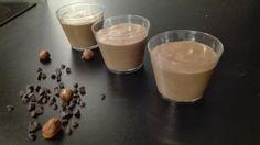Mousse chocolat-noisette végétale