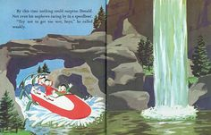 Page from Donald Duck In Disneyland Little Golden Book 1960 by Neato Coolville, via Flickr