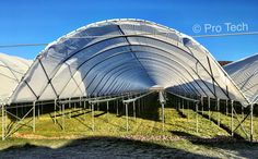 Protech supply bespoke agricultural and greenhouse polythene to suit individual crops. Bespoke, Opera House, Suit, Gardening, Culture, Building, Travel, Greenhouse Plans, Taylormade