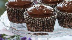 Oppskrift på kokosmuffins med sjokolade, foto: Synøve Dreyer