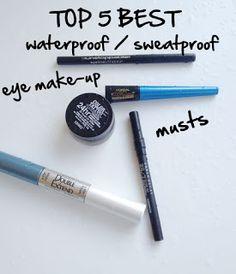 waterproof, cry proof, sweat proof eyes: Top 5 Waterproof/ Sweatproof Eye Make-Up Musts All Things Beauty, Beauty Make Up, Diy Beauty, Beauty Hacks, Beauty Essentials, Beauty Stuff, Eye Makeup, Makeup Tips, Makeup Ideas