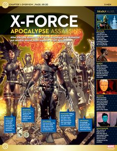 X-Force Team: Apocalypse Assassins One of my favorite teams in the xmen universe