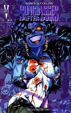 Sunglasses After Dark Heavy Metal Comic, Savage Dragon, Simon Bisley, Book Cover Art, After Dark, Comic Artist, Comic Books Art, Cool Pictures, Anime