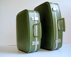 Avocado luggage to match the appliances