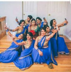Wedding party poses bridesmaid ideas for 2019 Indian Wedding Poses, Indian Wedding Pictures, Wedding Group Photos, Indian Wedding Photography Poses, Bride Photography, Wedding Pics, Trendy Wedding, Indian Wedding Planner, Wedding Planners