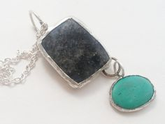 Hey, I found this really awesome Etsy listing at https://www.etsy.com/listing/224252545/gray-pendant-geometric-necklace-dangle