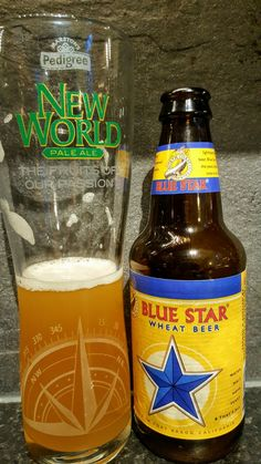 North Coast Blue Star Wheat Beer. Watch the video beer review here www.youtube.com/realaleguide #CraftBeer #RealAle #Ale #Beer #BeerPorn #NorthCoastBlueStar #BlueStarWheatBeer #NorthCoastBrewingCompany #NorthCoastBrewing #NorthCoast #AmericanCraftBeer #AmericanBeer Pale Ale Beers, I Like Beer, American Beer, Wheat Beer, Beer Brands, North Coast, Brewing Company, American Crafts, Craft Beer